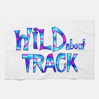 Wild About Track Kitchen Towel