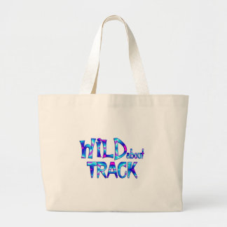Wild About Track Large Tote Bag
