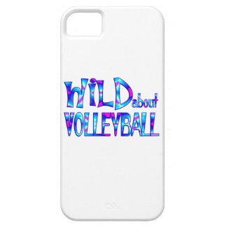 Wild About Volleyball iPhone 5 Case