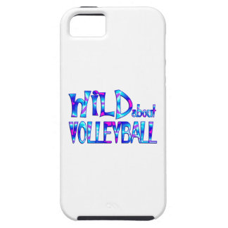 Wild About Volleyball iPhone 5 Cover