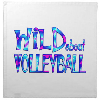 Wild About Volleyball Napkin
