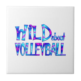 Wild About Volleyball Tile