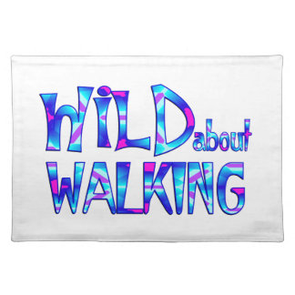 Wild About Walking Placemat