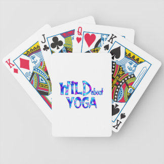 Wild About Yoga Bicycle Playing Cards