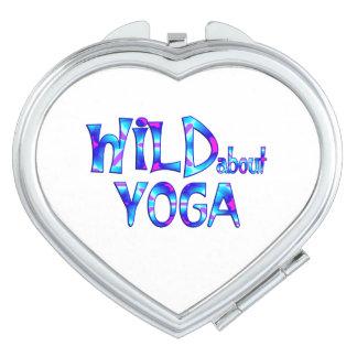 Wild About Yoga Makeup Mirror