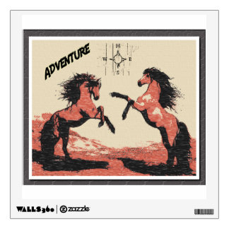 Wild Adventure Wall Decal