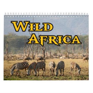 Wild Africa Calendar