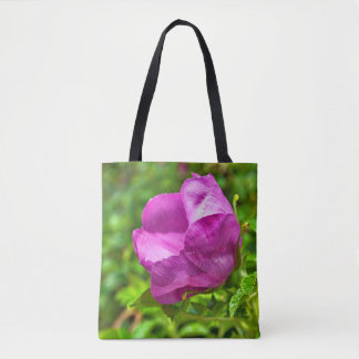 Wild Alaskan Rose Tote Bag