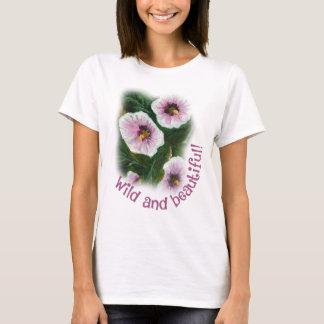 Wild and beautiful basic t-shirt