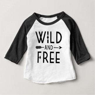 Wild and Free Baby T-Shirt