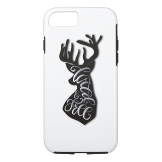 Wild and Free Case-Mate iPhone Case