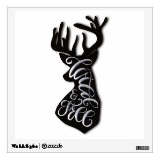 Wild and Free Wall Sticker