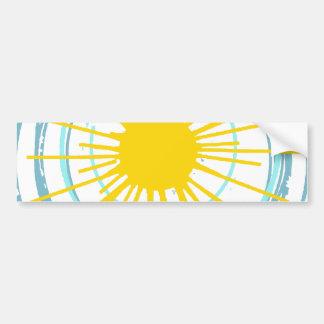 Wild and Free You Are My Sunshine Bumper Sticker