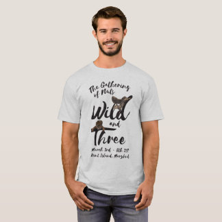 Wild and Three Handwriting Graphic Tee (Men's)