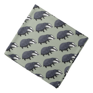 wild animal baby badger do-rags