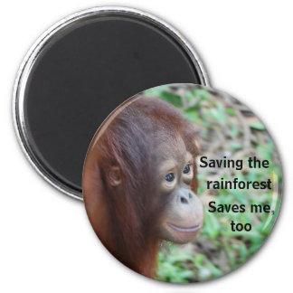 Wild Animal Lifesaving Charity Magnet