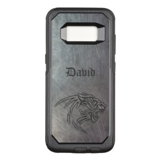 Wild Animal Metal Tribal OtterBox Commuter Samsung Galaxy S8 Case