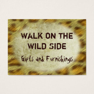 Wild Animal Prints Business Card
