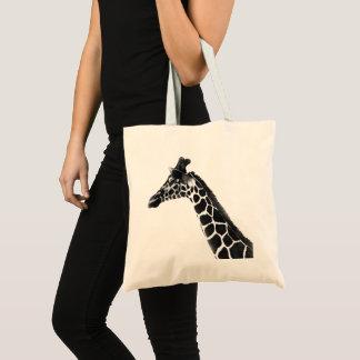 Wild Animal Savanna Woodlands Giraffe Sketch Tote Bag
