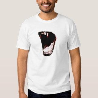 Wild Animal Teeth Fang T Shirts