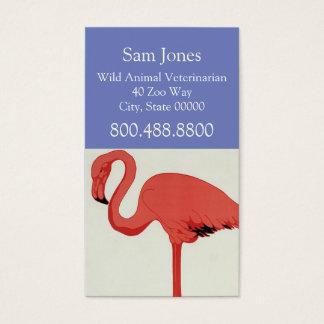 Wild Animal Veterinarian Business Card