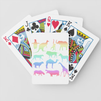 Wild Animals Bicycle Playing Cards