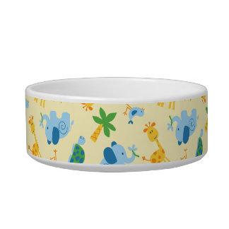 Wild animals bowl