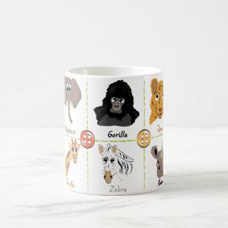 Wild Animals Coffee Mug