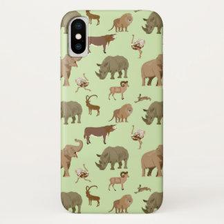 Wild animals iPhone x case