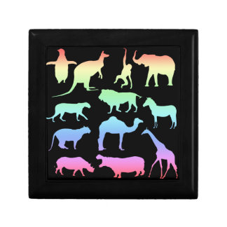 Wild Animals Keepsake Box