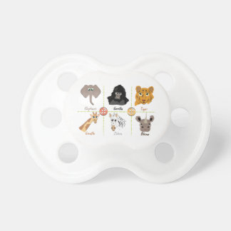 Wild Animals Pacifier