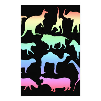 Wild Animals Stationery