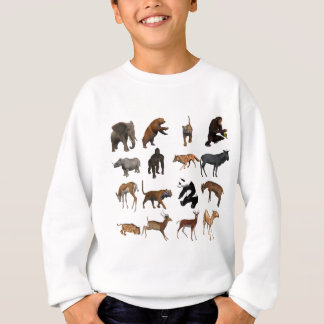 Wild animals sweatshirt
