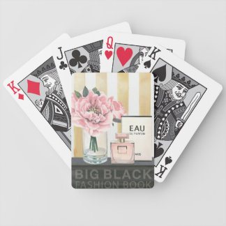 Wild Apple | Big Fashion Book - Striped Bicycle Playing Cards