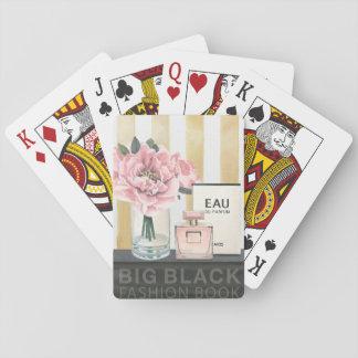 Wild Apple | Big Fashion Book - Striped Playing Cards