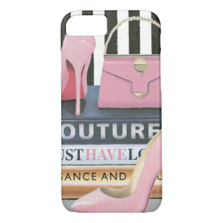 Wild Apple | Couture Stripes - Shoes & Bag iPhone 8/7 Case