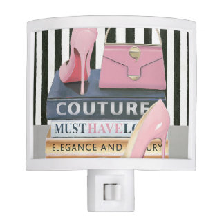 Wild Apple   Couture Stripes - Shoes & Bag Night Lites