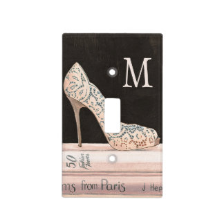 Wild Apple | Elegant High Heel Fashion Light Switch Cover