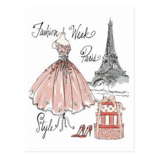 Wild Apple   Paris Fashion Week Style Postcard