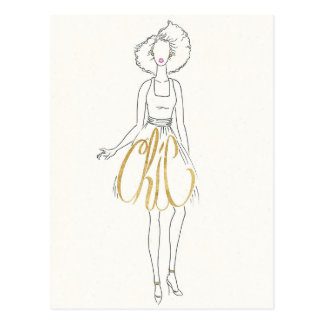 Wild Apple | Style Sayings - Chic Dress Postcard