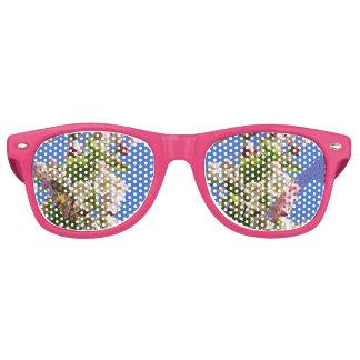 Wild Apple Tree blossoms Retro Sunglasses