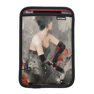 Wild Apple | Vintage Watercolor Woman iPad Mini Sleeve