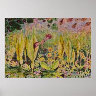 wild arum elve print