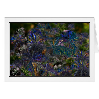 Wild Asters Card