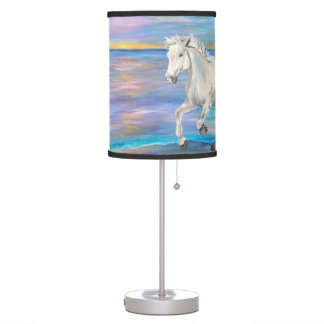 Wild, Beautiful, and Free Horse Lamp
