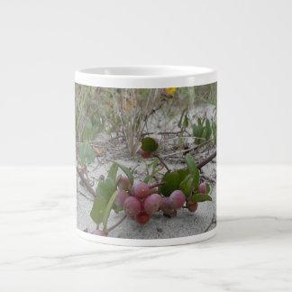 Wild Berries on the Beach Giant Coffee Mug