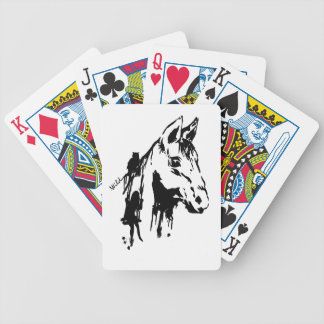 wild bicycle playing cards