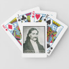 'Wild Bill' Hickok (b/w photo) Bicycle Playing Cards