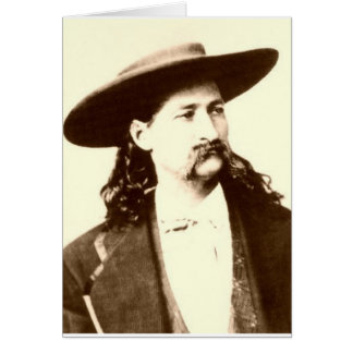 WILD BILL HICKOK CARD