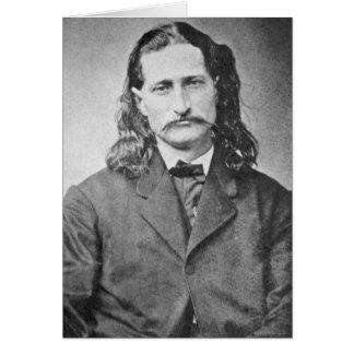 Wild Bill Hickok Lawmen Old West Vintage Photo Card